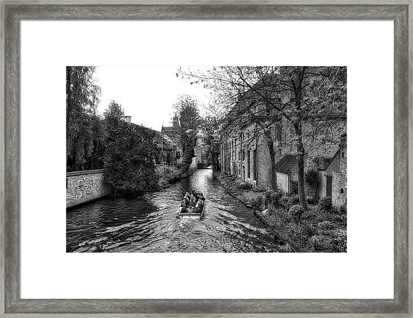 Bruges Bw4 Framed Print