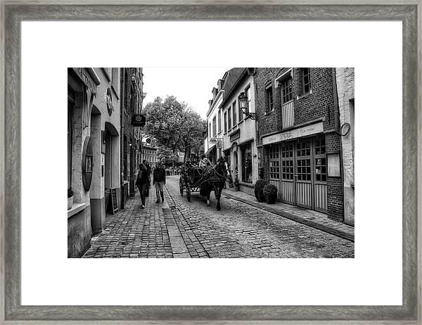 Bruges Bw5 Framed Print