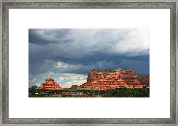 Bruised And Sullen Framed Print