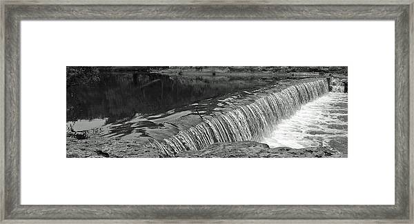 Brushy Creek II Framed Print