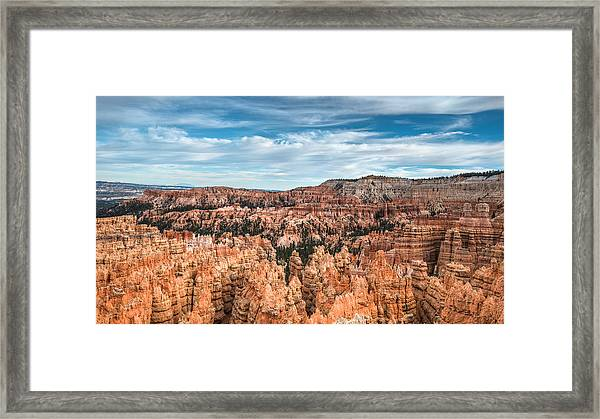 Bryce Canyon Amphitheater Framed Print