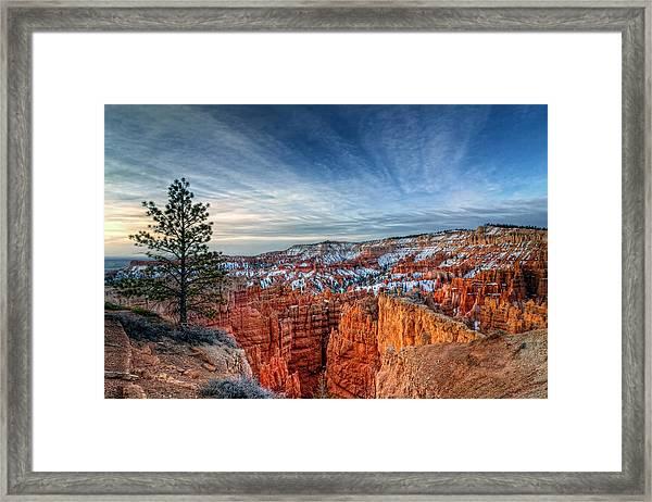 Bryce Canyon Sunrise Framed Print