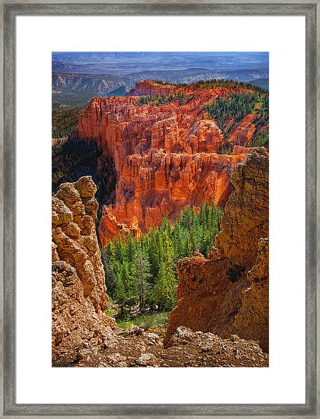Bryce Canyon Vista Framed Print