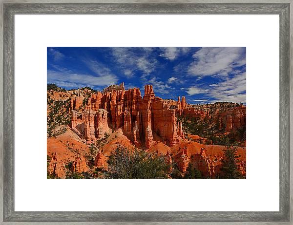 Bryce Hoodoos 2 Framed Print