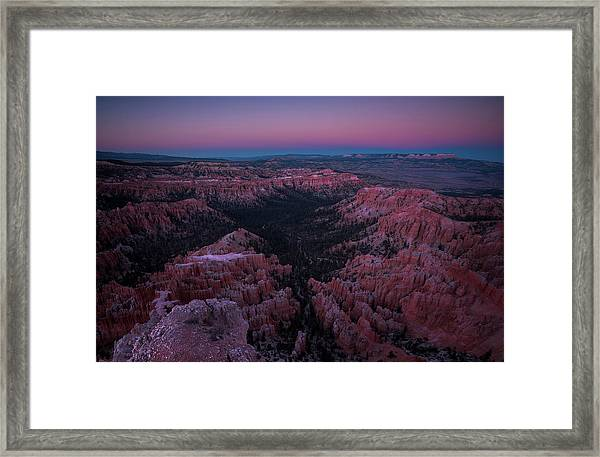 Bryce Point Framed Print