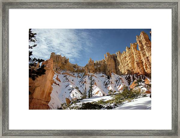 Bryce Towers Framed Print