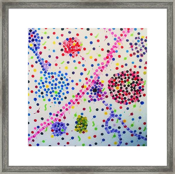 Bubble Gum Framed Print by HollyWood Creation By linda zanini