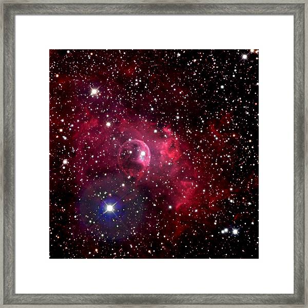 Bubble Nebula Framed Print