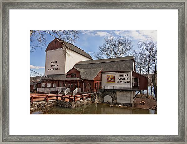 Bucks County Playhouse I Framed Print