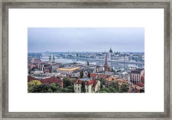 Framed Print featuring the photograph Budapest The Hidden Treasure Chest by Kevin McClish