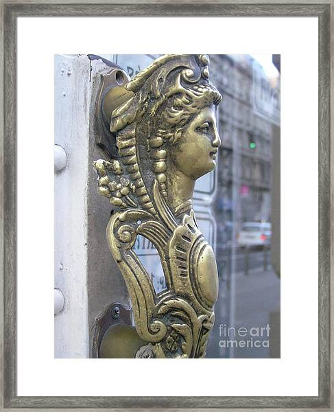 Budapestlady Framed Print