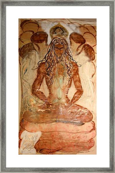 Buddha Body Framed Print