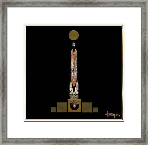 Buddha Mindfulness Framed Print