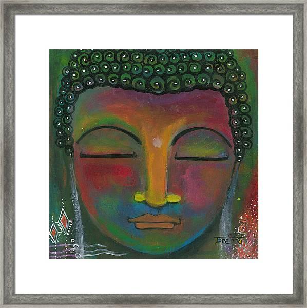 Buddha Painting Framed Print