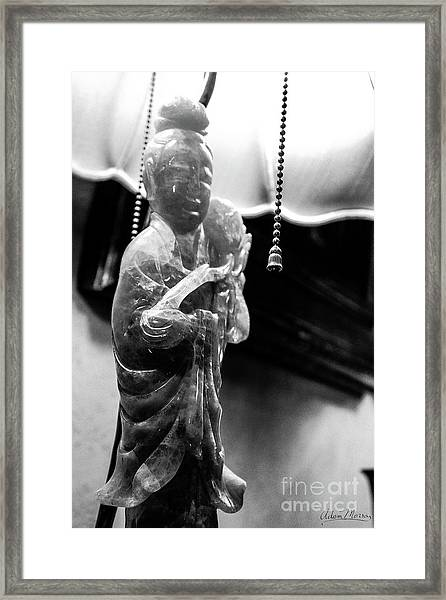 Buddha's Light Framed Print