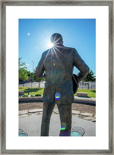 Buddy Holly 6 Framed Print
