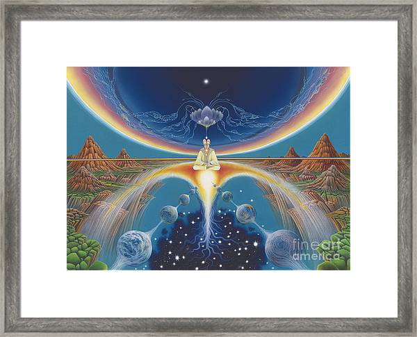Budhistic Dreams Framed Print