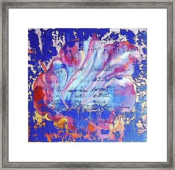 Bue Gift Framed Print