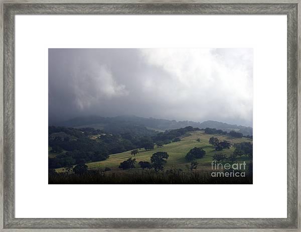 Buellton Hill Framed Print