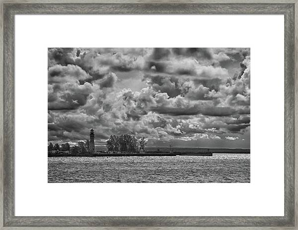 Buffalo Lighthouse 8111 Framed Print