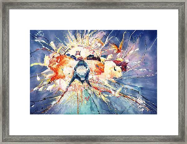 Buffalo Spirits Framed Print