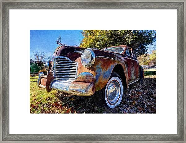 Buick Eight Framed Print