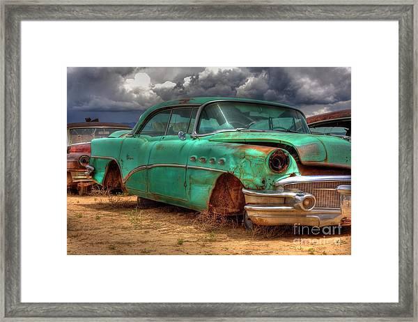 Buick Super Framed Print