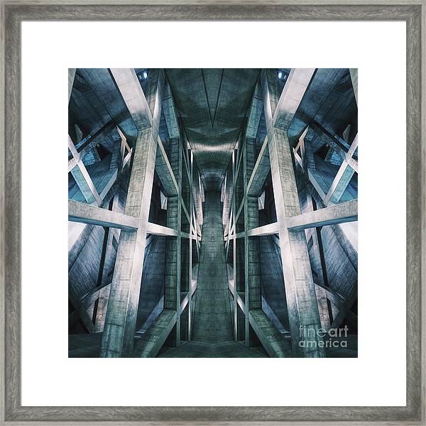 Building A Building Framed Print