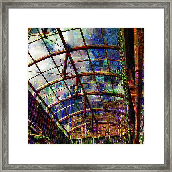 Building For The Future Framed Print