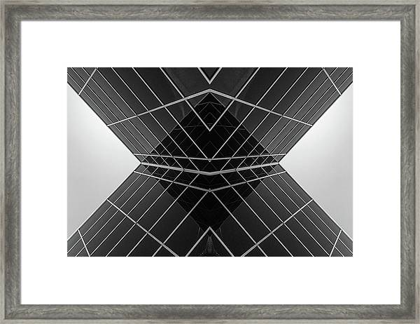 Building X Framed Print