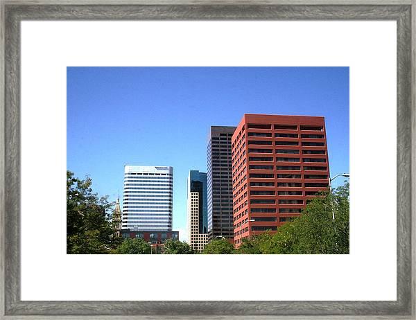 Buildings Of Grace Framed Print by Paul SEQUENCE Ferguson             sequence dot net