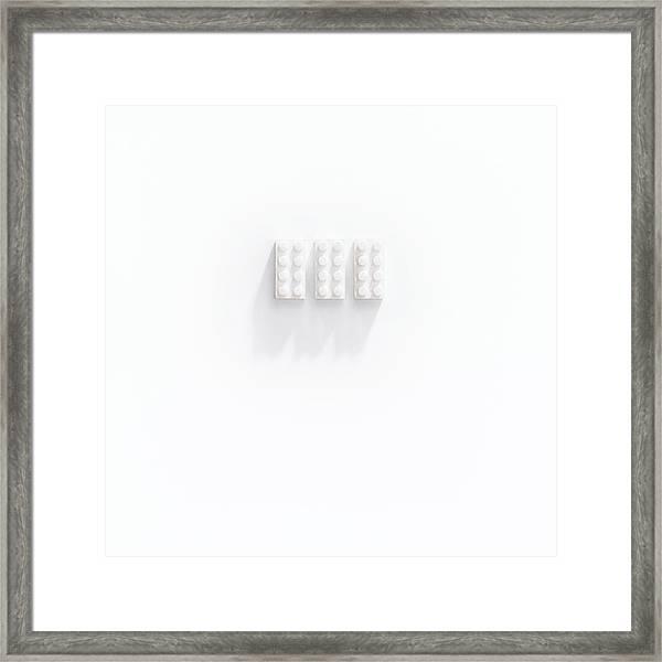 Builidng Blocks Framed Print