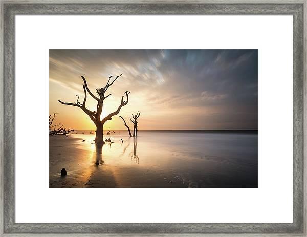 Bulls Island Sunrise Framed Print
