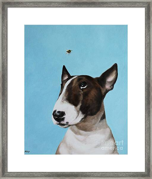 Bully And Bee Framed Print