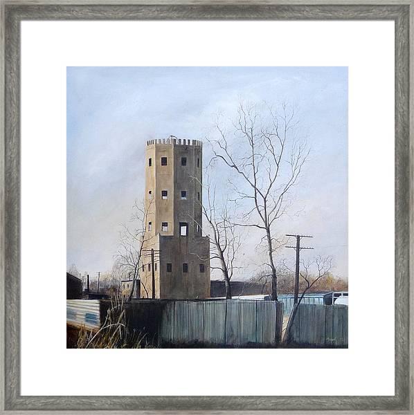 Bum's Castle Framed Print