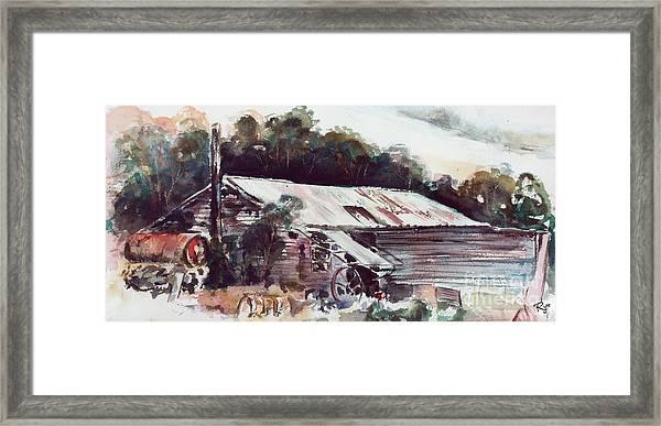 Buninyong Dairy Framed Print