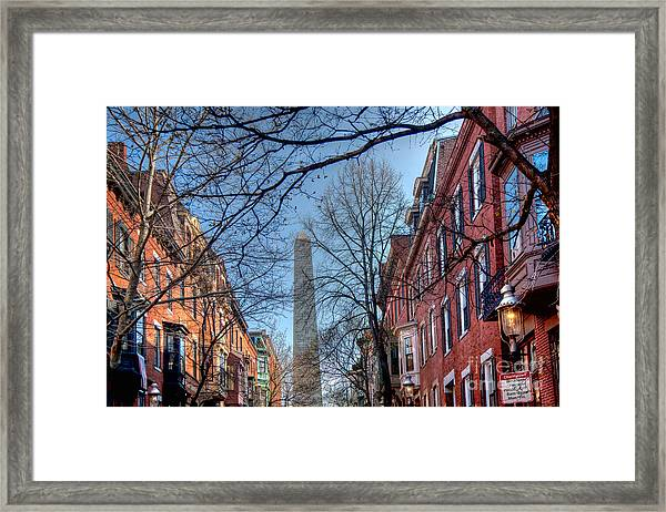 Framed Print featuring the photograph Bunker Hill by Susan Cole Kelly