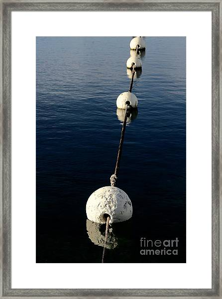 Buoy Descending Framed Print