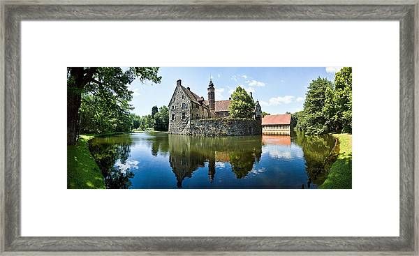 Burg Vischering Framed Print