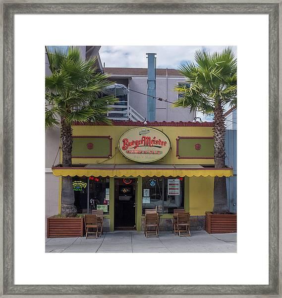 Burgermeister Restaurant, San Francisco Framed Print