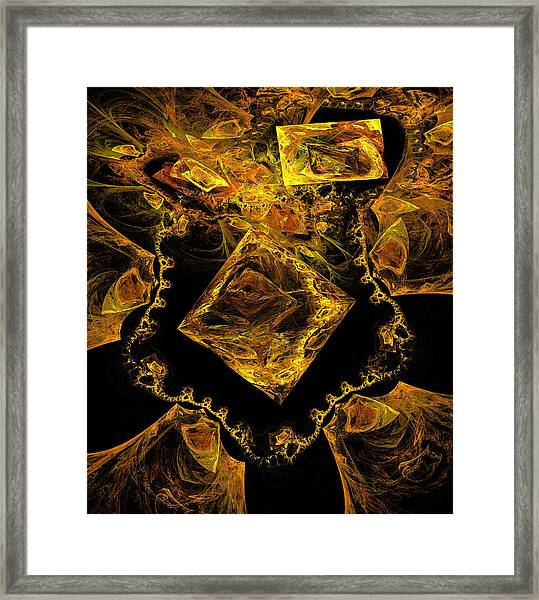 Buried Treasure Framed Print