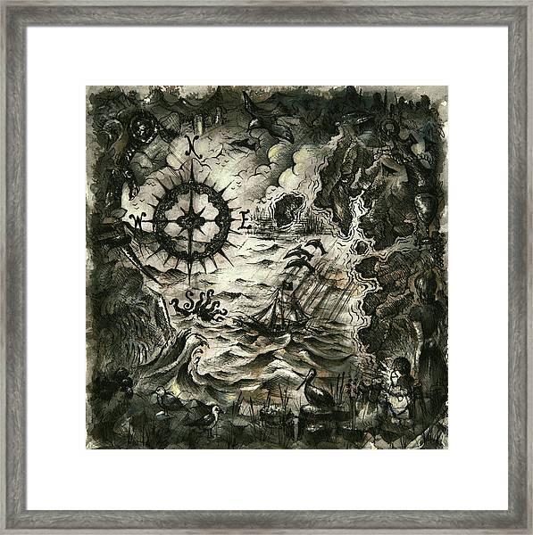 Buried Treasure Framed Print