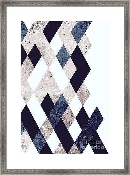 Burlesque Texture Framed Print