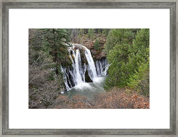 Burney Falls Framed Print
