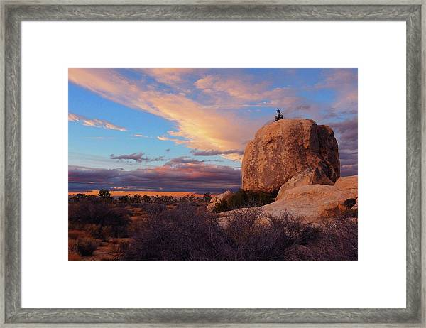 Burning Daylight Framed Print