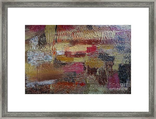Burst Of Sunshine Framed Print