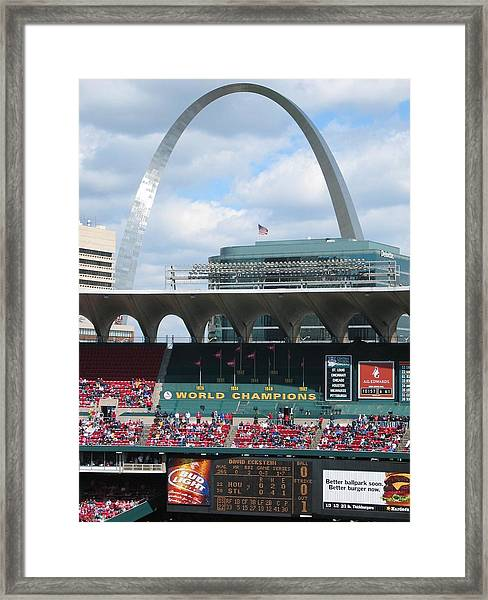Framed Print featuring the photograph Busch by Dylan Punke