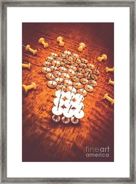 Busiiness Still Life Ideas Framed Print