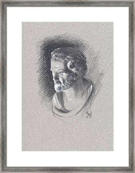 Bust 473 Framed Print