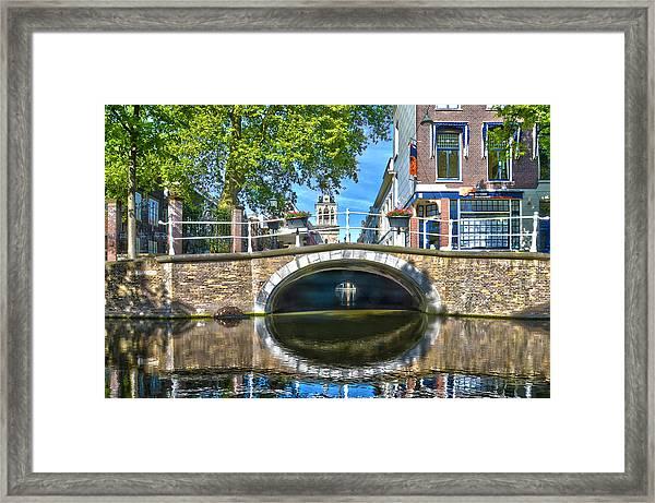 Butter Bridge Delft Framed Print